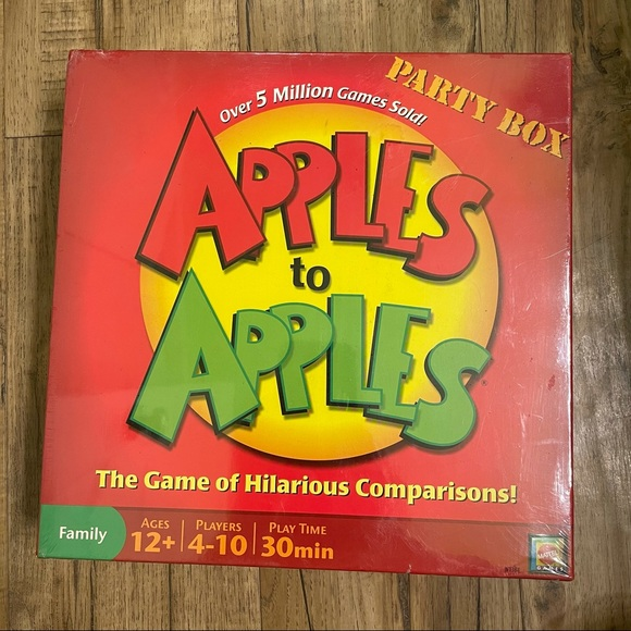 New Sealed Apples To Apples Game